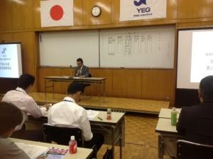 議長は矢野会長 無事すべての議案が承認されました