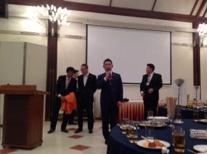 田中会長締めの挨拶